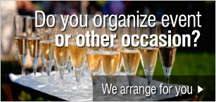 Do you organize event or other occasion?